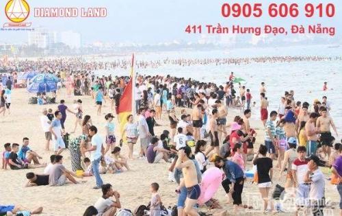 Bán 95m2 đất biển đường Đông Kinh Nghĩa Thục,Đà Nẵng chạy thẳng ra BT số 3 Phạm Văn Đồng.0905.606.910