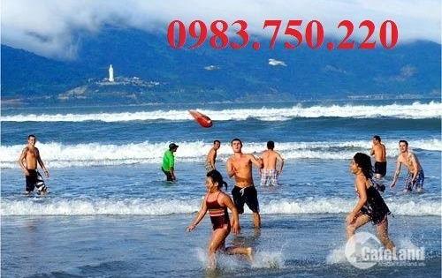 Bán 392 m2 đất 2 MT đường Hồ Nghinh và Lê Thước, Đà Nẵng MT 16m.LH:0905.606.910
