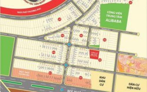 Đất nền dự án ALIBABA TÓC TIÊN RESIDENCE 2  tại BÀ RỊA VŨNG TÀU