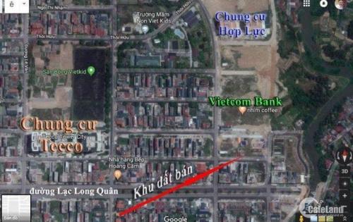 Bán lô đất khu đô thị xanh, P. Đông Vệ gần Tecco, TP. Thanh Hóa