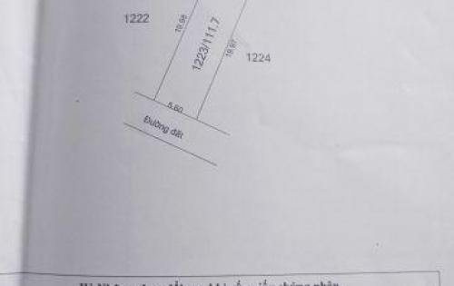 Đất 2 mặt tiền ngay KCN Linh Trung 3, DT: 112m2, giá 295 triệu LH: 0888 33 6161