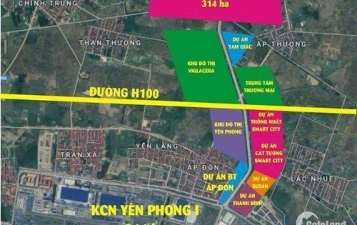 Bán đất nền dự án Yên Trung - Thụy Hòa