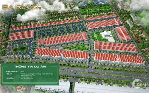 THÔNG TIN CHI TIẾT BÀ RỊA CITY GATE - MẶT TIỀN QL51- NGAY TRUNG TÂM HÀNH CHÍNH BÀ RỊA - VŨNG TÀU