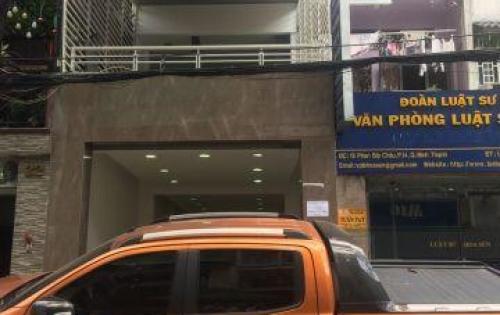 Nhà vuông vức 4x23m, 2 mặt tiền trước sau đường Phan Bội Châu, P14 Bình Thạnh Công nhận: 88,8m2.  Khu kinh doanh sầm uất, mặt tiền chính 15m, mặt tiền hẻm 6m.