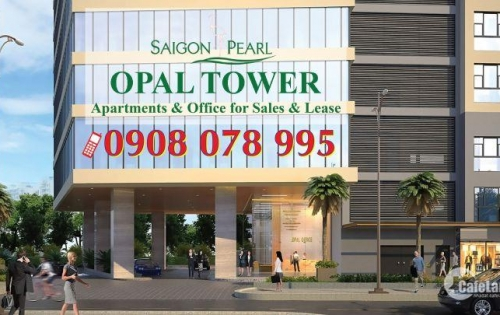 Bán CHCC căn số 5, dt 90.12m2, 2PN dự án Opal Tower - Saigon Pearl_Hotline 0908 078 995