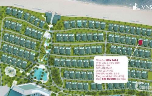 GẤP bán lỗ biệt thự Movenpick Nha Trang - giá 6,5 tỷ, tặng 9 cây vàng