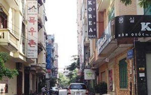Nhà 2 mặt phố khu Trung Hòa - Nhân Chính 55m x 5t giá 16 tỷ.