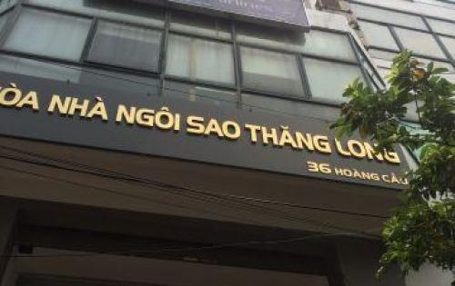 Cho thuê mặt bằng kinh doanh tại mặt phố Hoàng Cầu đống đa giá rẻ dt 111m2 / 72tr