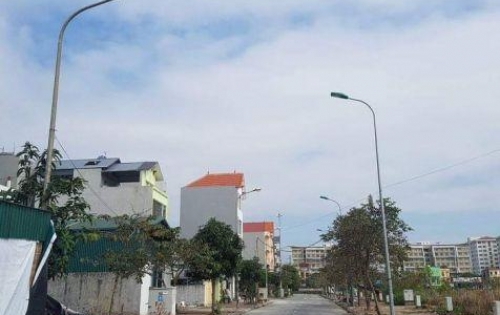 Cần bán gấp lô đất Tái Định Cư đã có sổ đỏ, DT: 57,5m2 chỉ có tại Trâu Qùy Gia Lâm