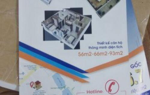 Căn hộ giá siêu rẻ, chỉ từ 16,7 triệu/m2/56.1m2 - 2PN, ngay trung tâm Hà ĐÔng. 0916.958.129