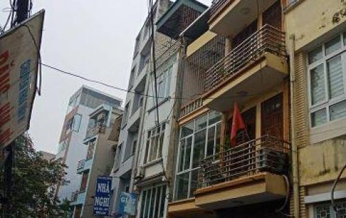 Bán tòa nhà 6 tầng-14 phòng-Ở và cho thuê Mai Động-Kim Ngưu.
