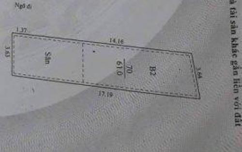 Bán nhà 4 tầng 25m ra Nguyễn Đức Cảnh 65m 2 mặt ngõ to 3.8 tỷ
