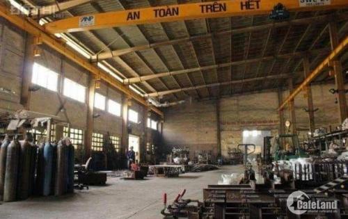 Cho thuê nhà xưởng sản xuất, làm kho chứa hàng khu vực Bình Chánh.