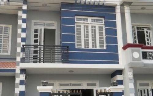 Nhà mới xây nằm trong dãy nhà liền kề, đã có sổ riêng
