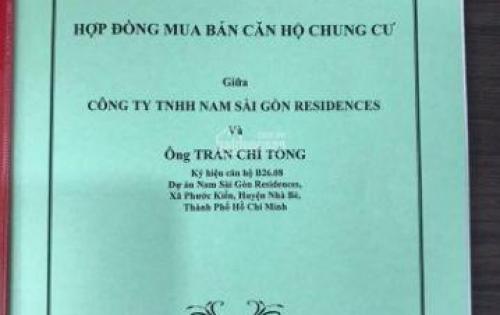 Chủ nhà kẹt tiền, ký gửi bán giá chênh cực thấp các căn SaiGon South Residences CĐT Phú Mỹ Hưng. LH em 0901485095 Bảo