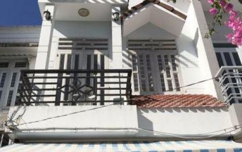 Bán nhà Thị trấn Nhà Bè, đường Huỳnh Tấn Phát, nhà 1 trệt 1 lầu. DT 4x14m, hẻm xe hơi, giá 2.95 tỷ