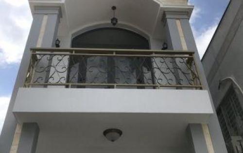 Bán nhà hẻm 2266 Huỳnh Tấn Phát, Thị trấn Nhà Bè, DT 4m x 20m, 2 lầu sân thượng, giá 4 tỷ
