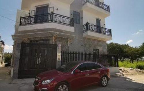 Bán gấp nhà mới 2 mặt tiền hẻm 2329 Huỳnh Tấn Phát thị trấn Nhà Bè