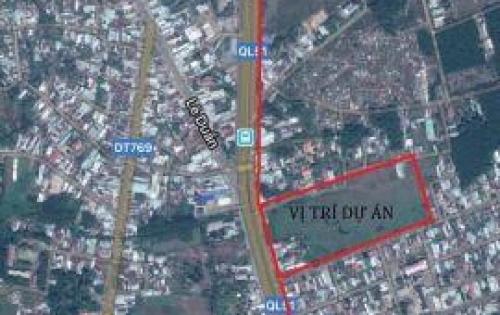 Cần bán gấp 03 lô đất đối diện chợ mới Long Thành, thị trấn Long Thành