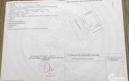 Bán đất chính chủ đà nẵng,sổ đỏ sang tay ngay 0822810294 hoặc 0967256789