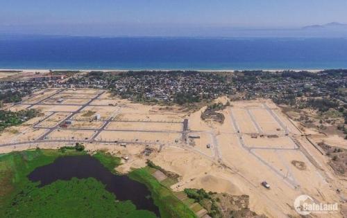 Bán đất nền gần sông, giáp biển, lô góc ngã tư giá đầu tư GĐ 1