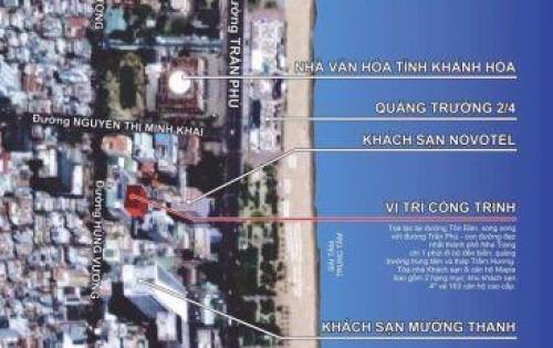 Bán nhanh căn hộ Maple ngay tttp Nha Trang ,cách biển 100m . Giá chỉ 1 tỷ 900 triệu. Lh 0935964828