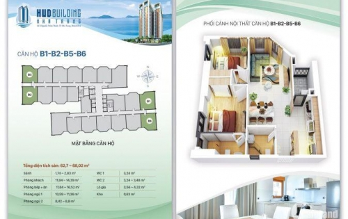 Chính chủ cần chuyển nhượng căn chung cư HUD building Nha Trang