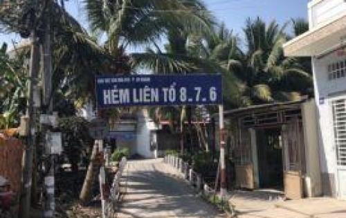 Bán nhà 2 mặt trệt lầu hẻm 876 Lộ Ngân Hàng, Ninh Kiều, Cần Thơ