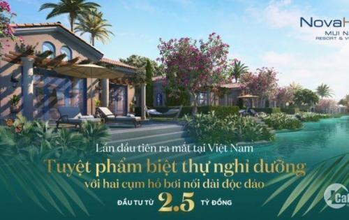 Biệt thự biển Phan Thiết Mũi Né chỉ 3 tỷ, vay ngân hàng không LS trong 18 tháng-  0902.247.239