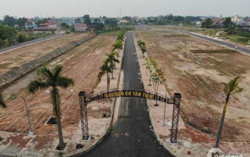 Chỉ với 680tr sở hữu ngay lô đất rẻ nhất tại Thái Nguyên-KĐT Tân Tiến