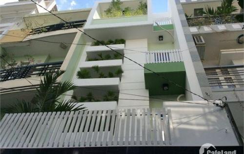 Bán nhà 2 mặt tiền đường Trần Hưng Đạo,P Nguyễn Cư Trinh, Q1. DT:4m25x24m. trệt 4 lầu