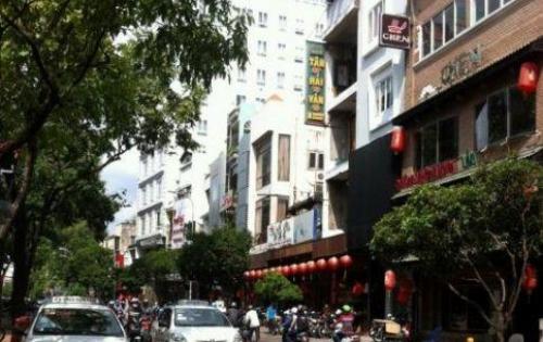 Bán nhà mặt tiền đường Trần Hưng Đạo, P Nguyễn Cư Trinh, Q 1. DT: 4m1 x 18m. trệt 1 lầu
