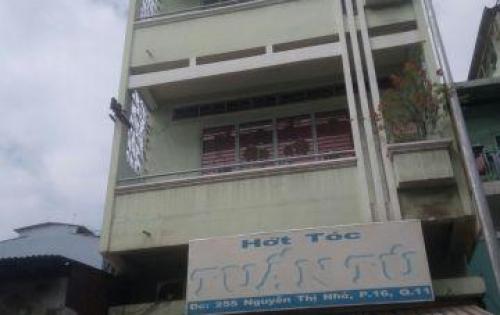 Chính chủ bán nhà HXH 2 MT Minh Phụng, 5.3x12m, 3 tầng, giá 8.9 tỷ TL.