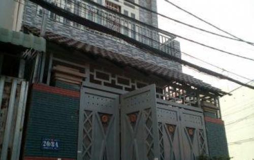 Bán nhà 1 trệt 2 lầu 140m2 giá 3,7 tỷ MT đường TX24, Thạnh Xuân, Q.12, Tel.0931.06.06.18