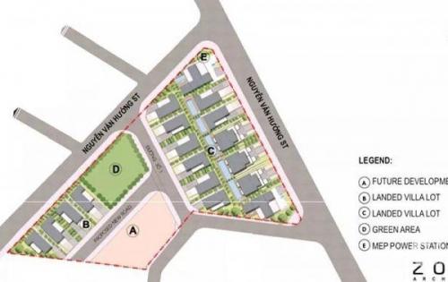 Dự án King Crown chính thức mở bán giai đoạn 1. Villa Shophouse đẳng cấp bậc nhất Thảo Điền