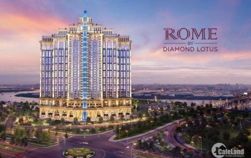 CHỈ 390TR SỞ HỮU NGAY CĂN HỘ ROME BY DIAMOND LOTUS SANG NHẤT QUẬN 2, TT 1% THÁNG, CK 10%_LH : 0901.68.55.98