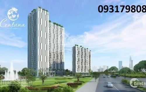 Centana Thủ Thiêm bàn giao tháng 02/2019, 2PN-2WC tầng cao, view Landmark 81, giá 2,550tỷ có VAT