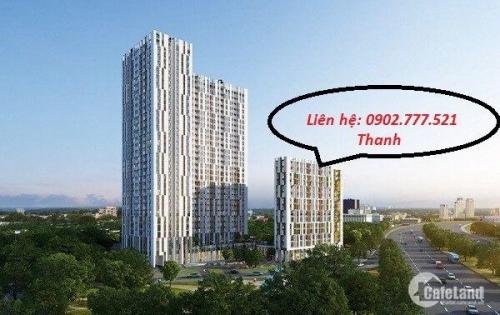 Centana Thủ Thiêm Officetel 61m2 2,30 tỷ/căn 2pn 2 view Landmark 81-