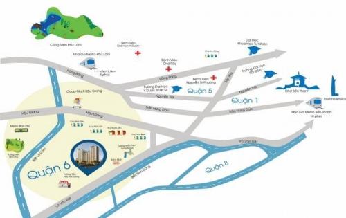 Cần sang nhượng trước tết căn 2PN dự án ViVa Riverside Quận 6 LH: 079 207 8066