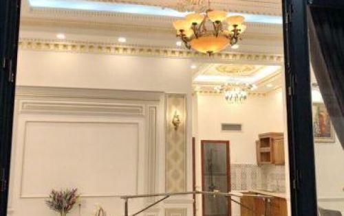 Bán nhà kiểu biệt thự đẹp lung linh hẻm 1056 Huỳnh Tấn Phát quận 7.