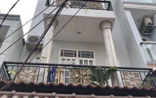Bán nhà 2 lầu hẻm xe hơi 803 Huỳnh Tấn Phát P. Phú Thuận Quận 7.