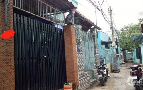 Bán nhà hẻm 1283 Huỳnh Tấn  Phát, Phường Phú Thuận, Quận 7.