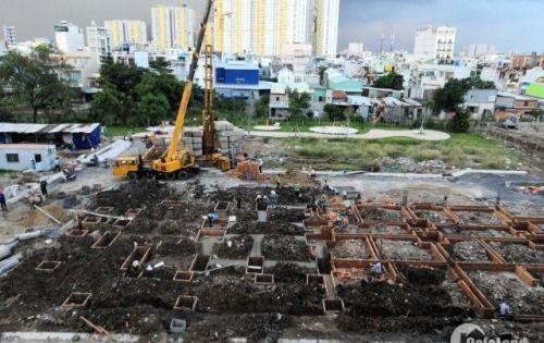 Khách cần tiền kinh doanh tết, nên nhượng lại căn hộ mới 100% ở liền, ngay tại trung tâm Quận 8, mặt tiền đường An Dương Vương và Võ Văn Kiệt,