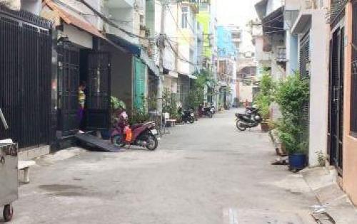 Bán nhà 1 lầu hẻm xe hơi 56 đường Tạ Quang Bửu Phường 2 Quận 8