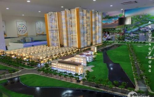 nhà phố liền kề trong khu phức hợp lớn nhất khu vực An Dương Vương,p16,Q8. đầu tư chỉ 2,1 tỉ