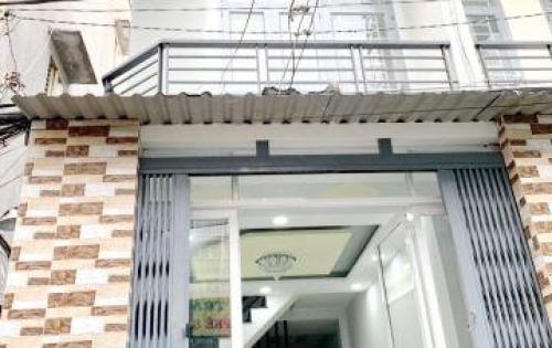 Bán gấp nhà mới 1 lầu hẻm 198 đường Dương Bá Trạc Phường 2 Quận 8