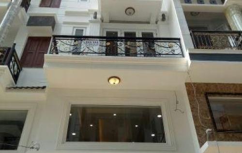 Nhà mặt tiền đường liên khu 5-6, sổ hồng riêng 1 trệt 3 lầu