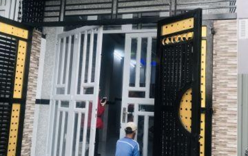 Nhà sổ hồng riêng đường Bến Lội Bình Trị Đông A Bình Tân (cách ngã 4 Hương Lộ 2 chỉ 5 phút)