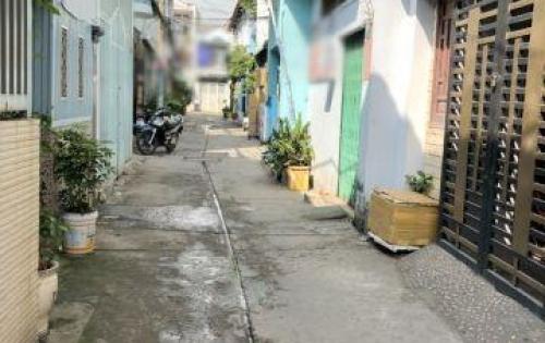 Bán nhà nát tiện xây mới hẻm xe hơi 168 Đất Mới Bình Tân (nở hậu).