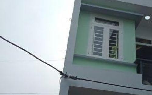 Về quê để lại căn nhà riêng 1 trệt 2 lầu, shcc, cách mặt tiền chợ 30m, giá 1 tỷ 580